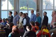 Probe in der Nierswalder Mehrzweckhalle 2014 Foto: N. Tiede